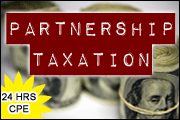 Partnership Taxation (24 Hrs. CPE)