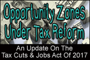 Opportunity Zones Under Tax Reform