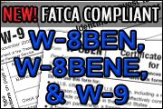 ALERT! New W-8BEN, W-8BENE and W-9