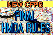 HMDA: Preparing for 2016 &the New Final Rule
