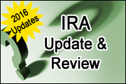 IRA Update and Review