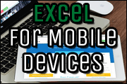 Using Excel On Mobile Devices