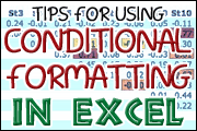 Excel Training: Conditional Formatting